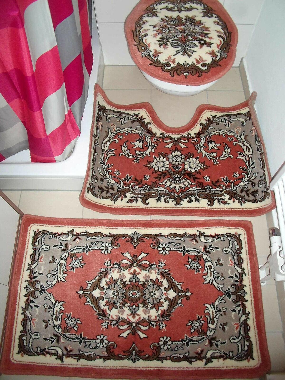 Teppich-Garnitur-UNIKAT      für Badezimmer  Neu     auch  Tolles Geschenk