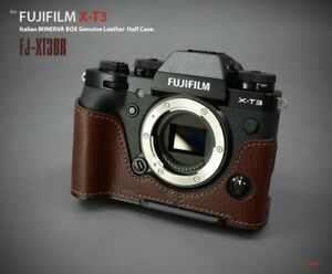 Details about LIM'S Genuine Leather Camera Half Case Dovetail Plate For  Fuji Fujifilm X-T3 XT3