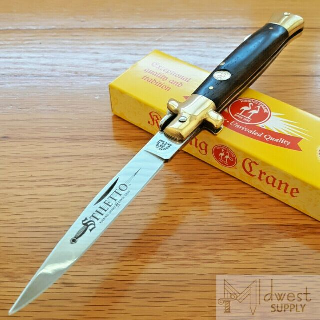 kissing crane pocket knife