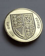 2010 BU ROYAL MINT SHIELD  ONE POUND £1  BRILLIANT UNCIRCULATED