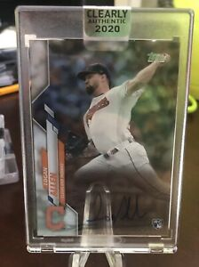 2020 Topps Clearly Authentic Logan Allen Autograph