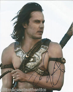 ACTOR TAYLOR KITSCH SIGNED SAVAGES 8X10 PHOTO W/COA FRIDAY ...