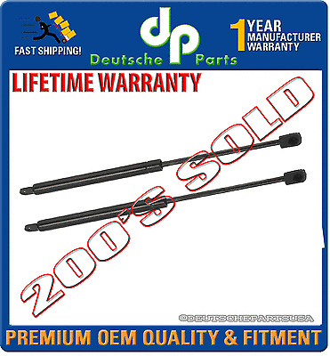 PORSCHE 924 944 944S 924S S S2 Hood Damper Strut Struts LEFT + RIGHT PAIR