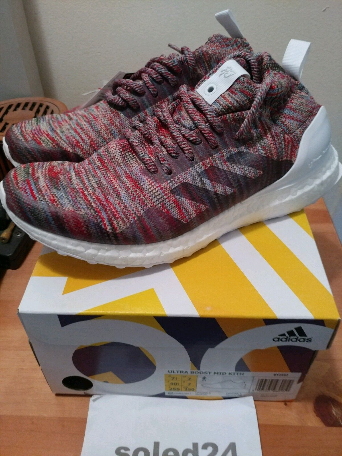 "566660391 KITH Ultra Boost Mid ""Aspen"" US 7.5 Consortium BY2592 Adidas x ..."