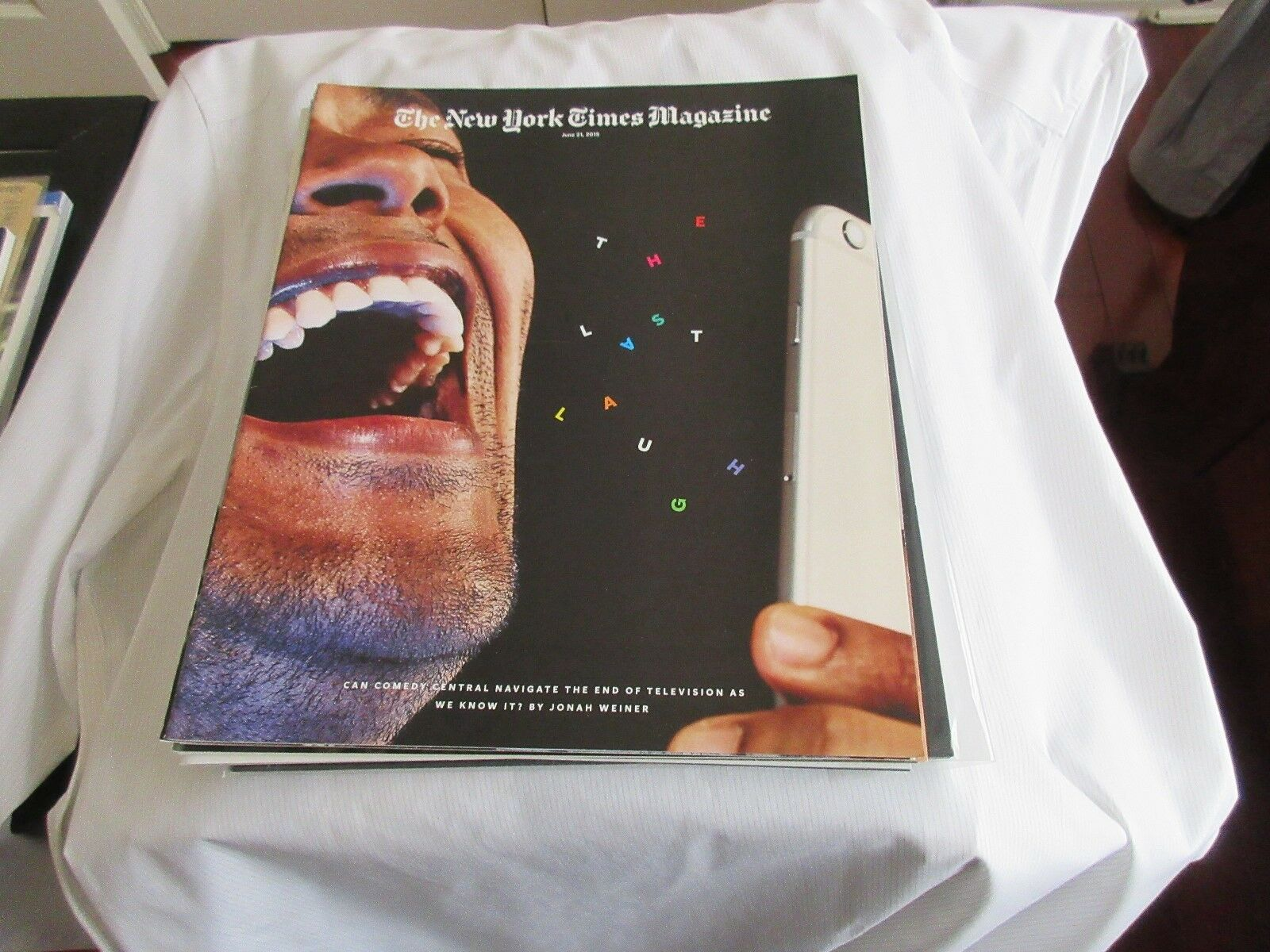 The Last Laugh , The New York Times Magazine , June 21