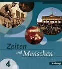 Zeiten und Menschen 4. Baden-Württemberg von Hans-Jürgen Lendzian und Wolfgang Mattes (2006, Gebundene Ausgabe)