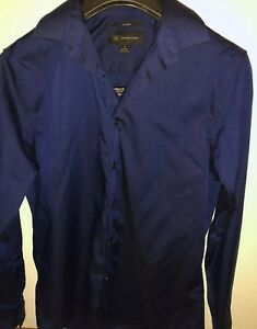 Camisa 1 manga Concepts de Inc larga International para azul 14 2 14 sin hombre S hierro de rqrwZ1T5