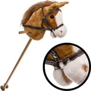 Schaukelspielzeug Steckenpferd Kinder Holzspielzeug Pferd Holz Holzpferd Holzsteckenpferd reiten