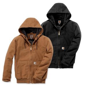 Details zu Carhartt 104050 Duck Active Jacket Winterjacke Kapuze Nachfolger zur J130