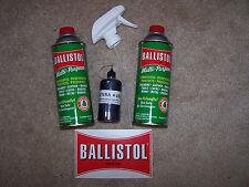 Ballistol Multi-Purpose Gun Cleaning Oil (2) 16oz liquid & Kunsa #181 Balistol