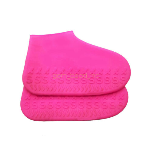 Rain Waterproof Shoe Cover Silicone Overshoes Outdoor Rainproof Skid-proof Cover