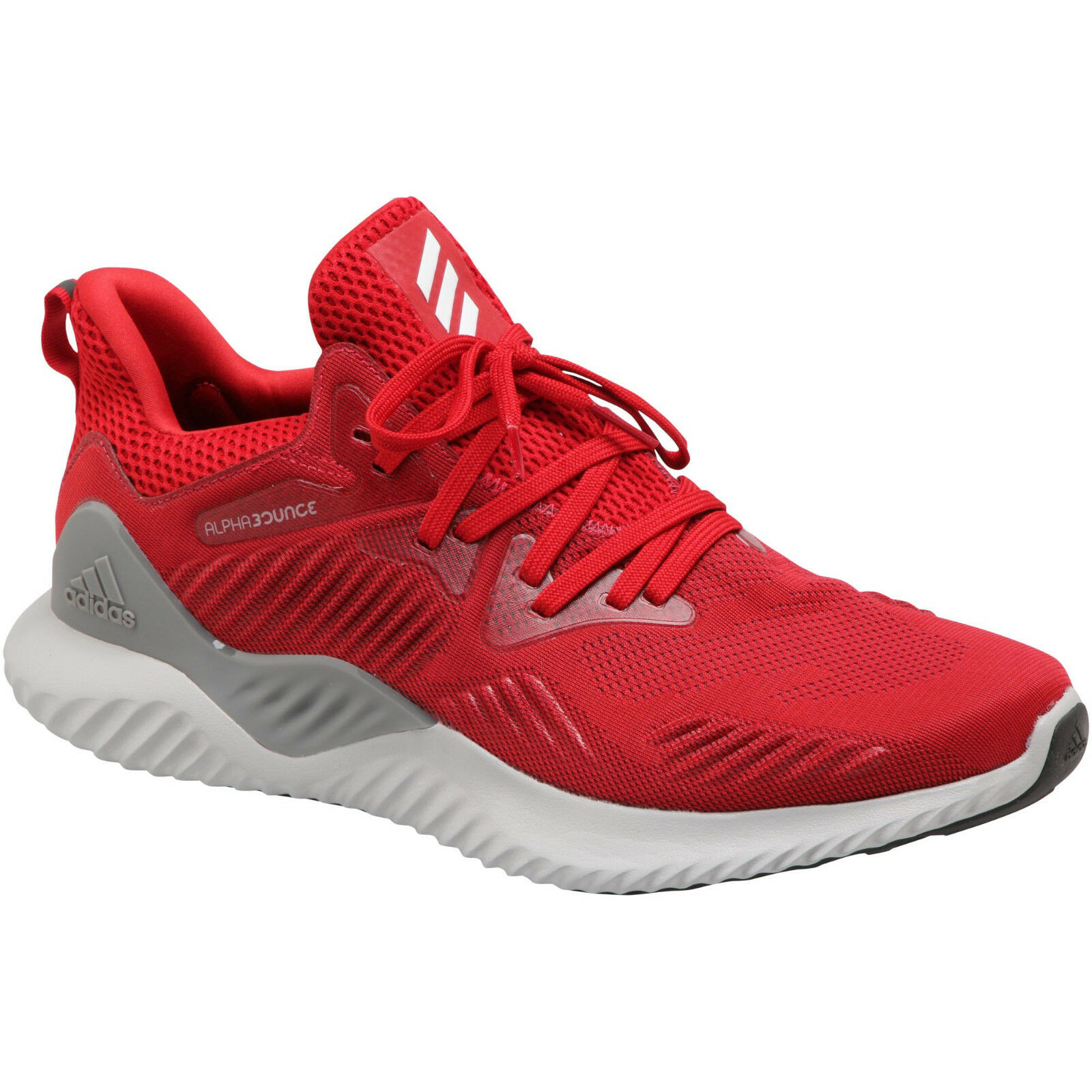 Adidas AlphaBounce Beyond M Knit Men's Running Training Athletic shoes Red