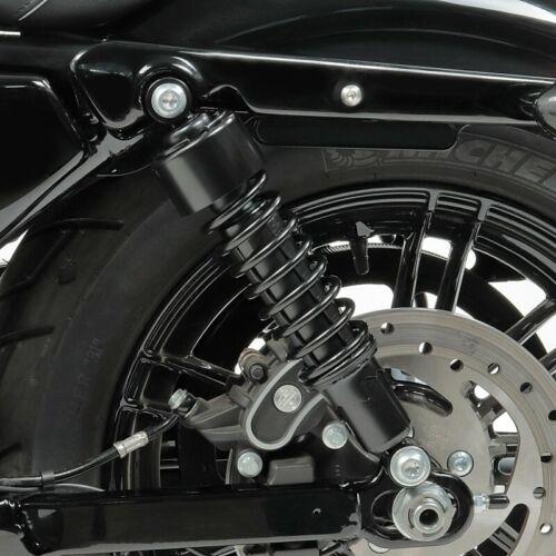 Stossdämpfer 302mm per Harley Dyna Super Glide Custom abbassamento Nero