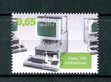 Slovenia 2016 MNH Iskra Delta Triglav Computers 1v Set IT Technology Stamps