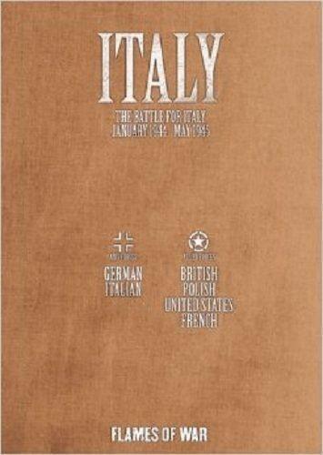 Italia  la batalla de Italia 1944 de enegro - 1945 de mayo (3rd) llamas de la guerra