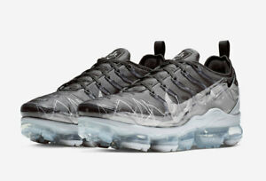 new style 051c2 15c48 Details about Nike Air Vapormax Plus Shark La Requin Grey Black Wolf Grey  Chrome (BV7827-001)