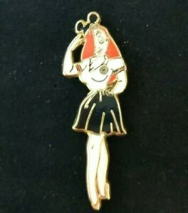 Disney-Shopping-JESSICA-RABBIT-dressed-MICKEY-Costume-MOUSEKETEER-Ears-LE250-Pin