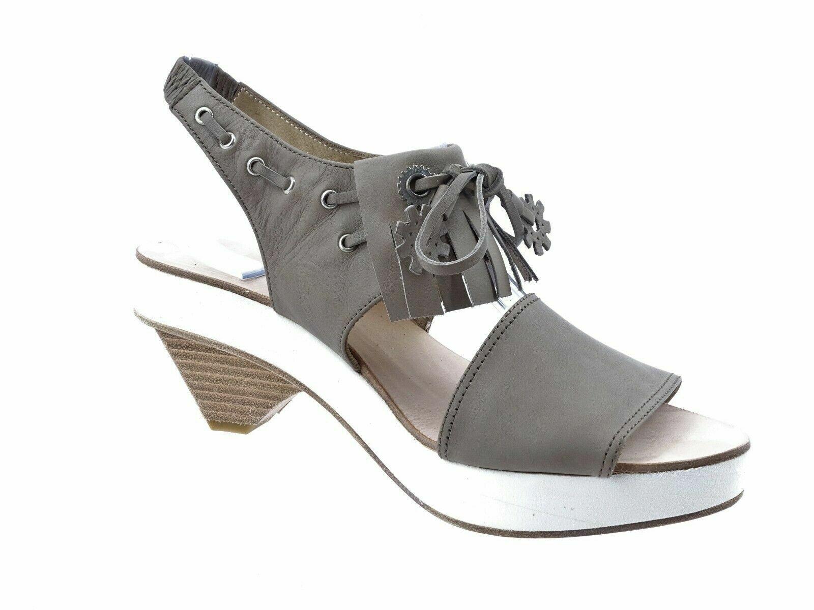 Marithe Francois Girbaud Schuhe Damen Sandalen Sandalen Sandalen Sandalette Sommerschuhe 37 Leder cc36fd