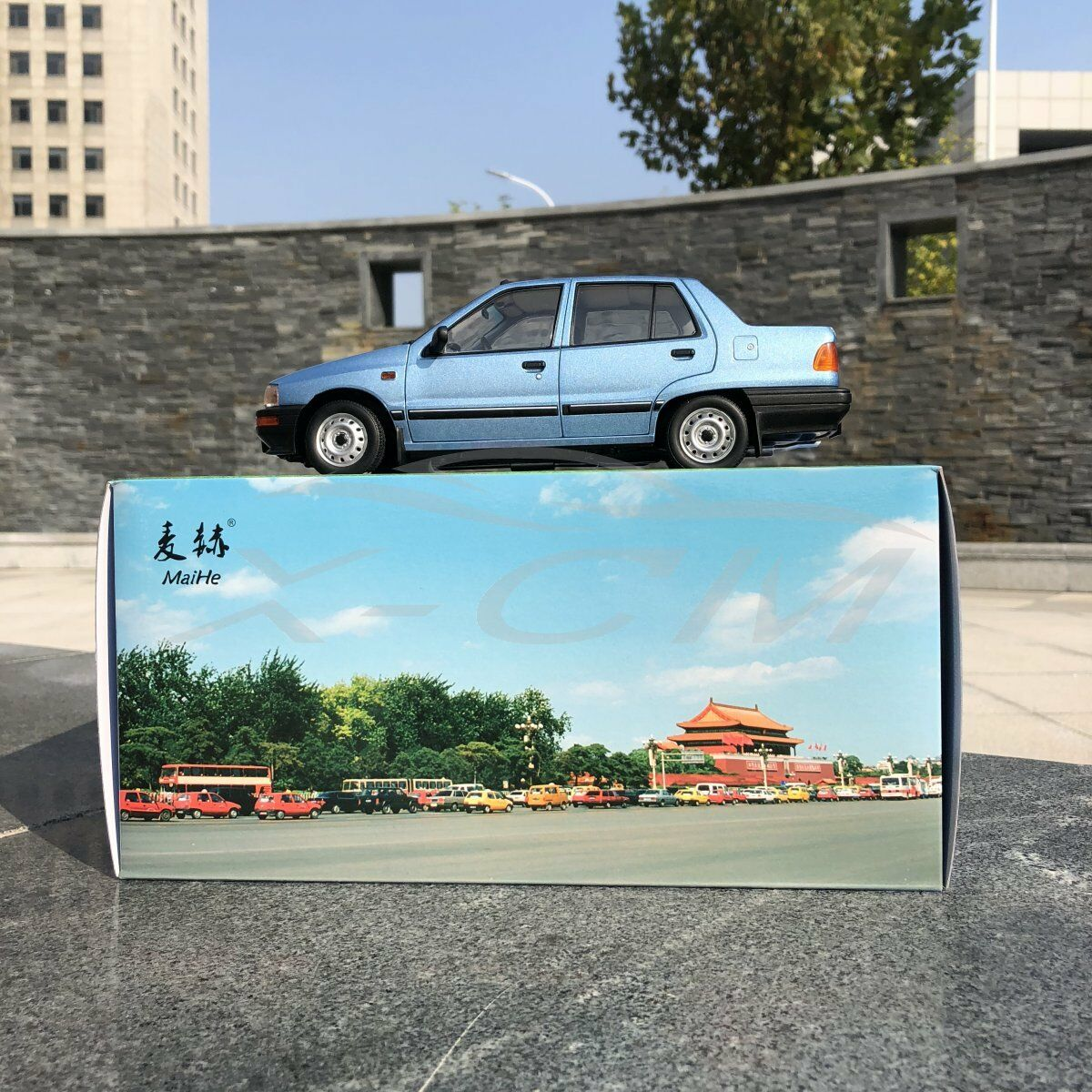 nessun minimo modellolo modellolo modellolo AUTO DIECAST yiqi cinese Tianjin xiali TJ7100 Berlina 1 18 (blu) + REGALO  acquista marca