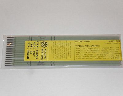 "7 rods 1//8/"" Vulcan SunArc Steel Repair Electrodes"