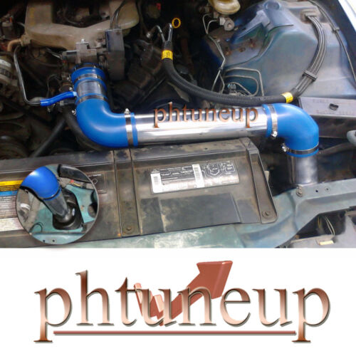 BLUE 1993-1995 CHEVY CAMARO PONTIAC FIREBIRD 3.4 3.4L V6 COLD AIR INTAKE KIT