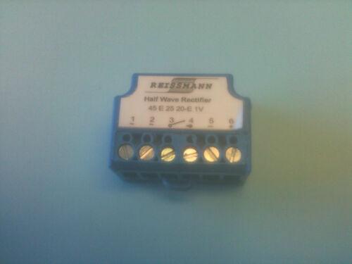 Motor Eléctrico Dc Freno Rectificador-la mitad Wave 250 V