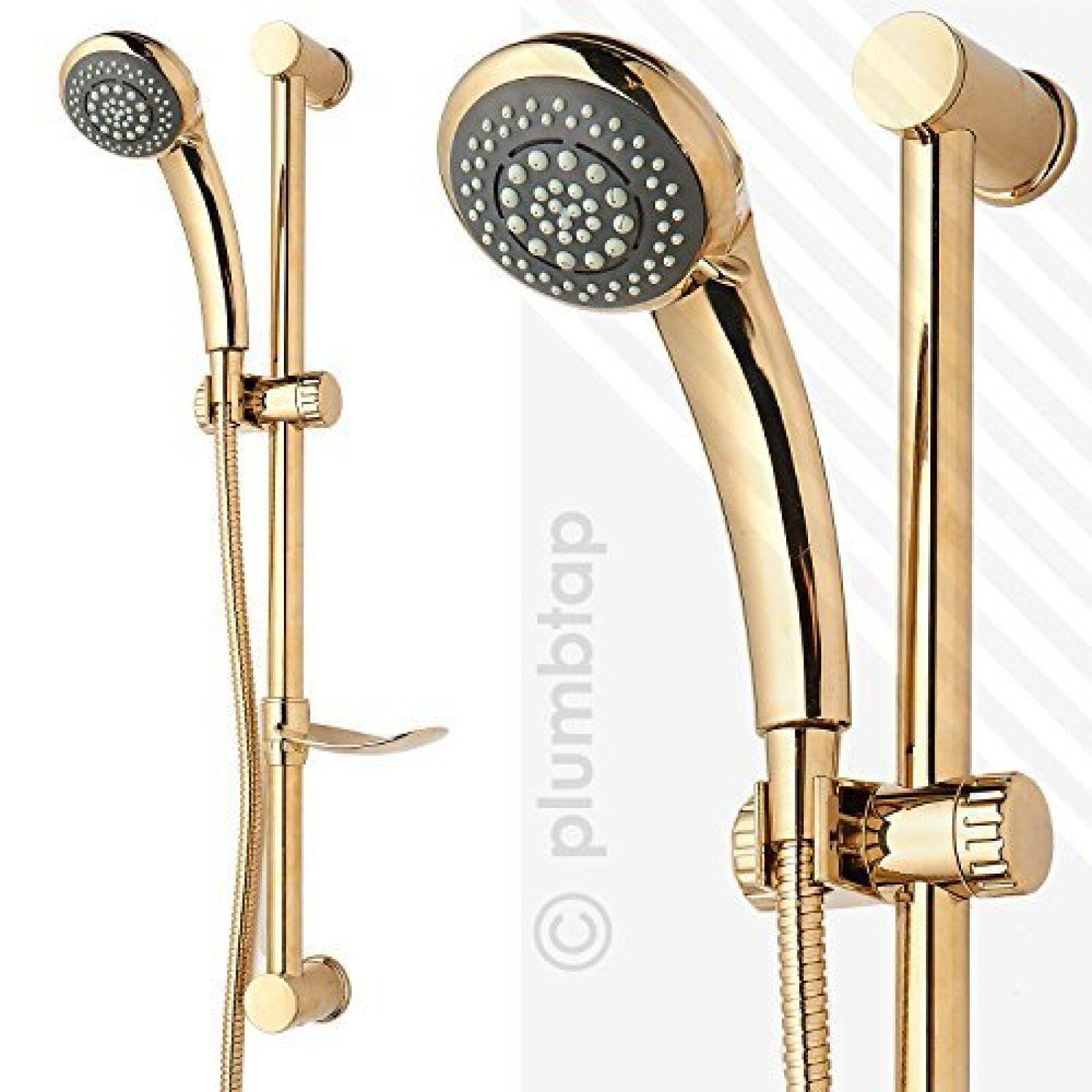 or Douche Kit 6 Mode combiné 1.5 mètre en métal flexible de douche de réglable barre de douche