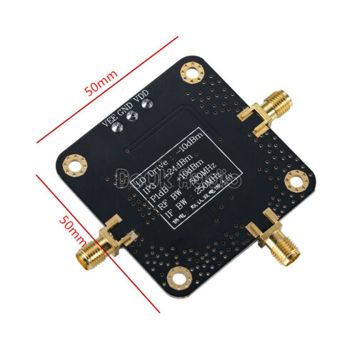 Hochfrequenz Mischer RF//IF High Frequency Mixer AD831 Module 500MHz Bandwidth