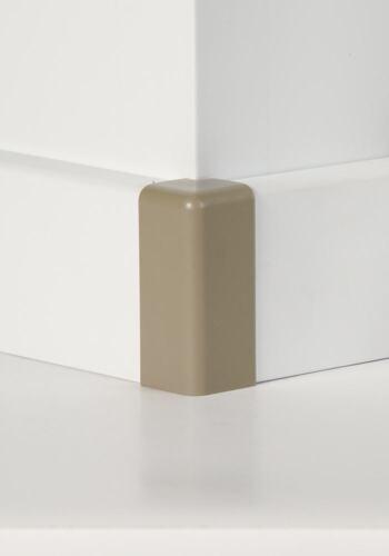 foliert 18 x 65 mm kieselgrau Classen Außenecke für FUXX-Laminatleiste