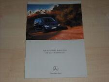 65996) Mercedes Viano Marco Polo Prospekt 03/2003