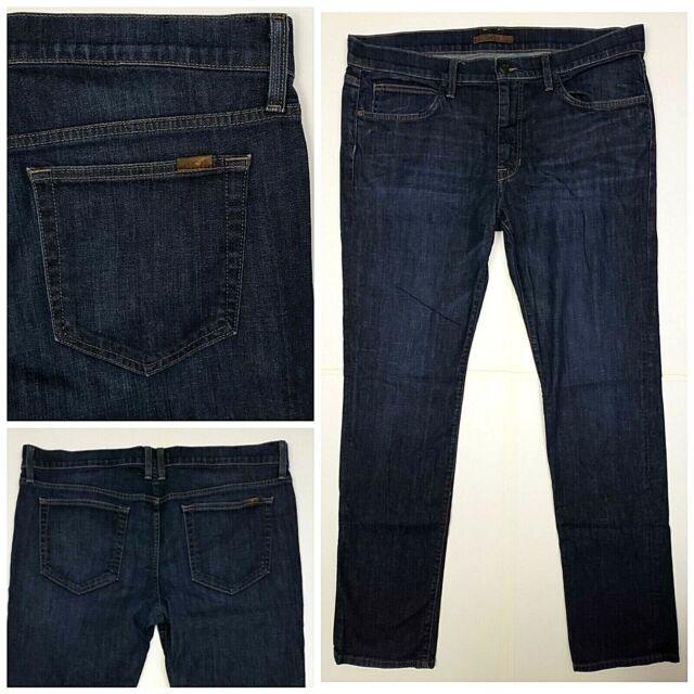 Joes Mens 36X34 Brixton Straight Narrow Jeans Stretch