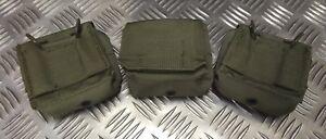 Idf-Militaire-Tactique-Munitions-Pochette-X-3-Web-Codura-G1-Vert-Olive
