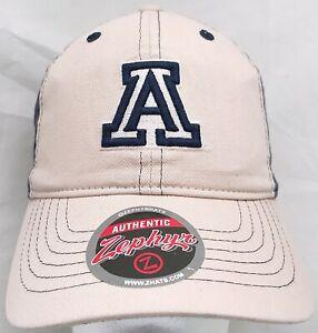 Arizona Wildcats NCAA Zephyr adjustable cap/hat
