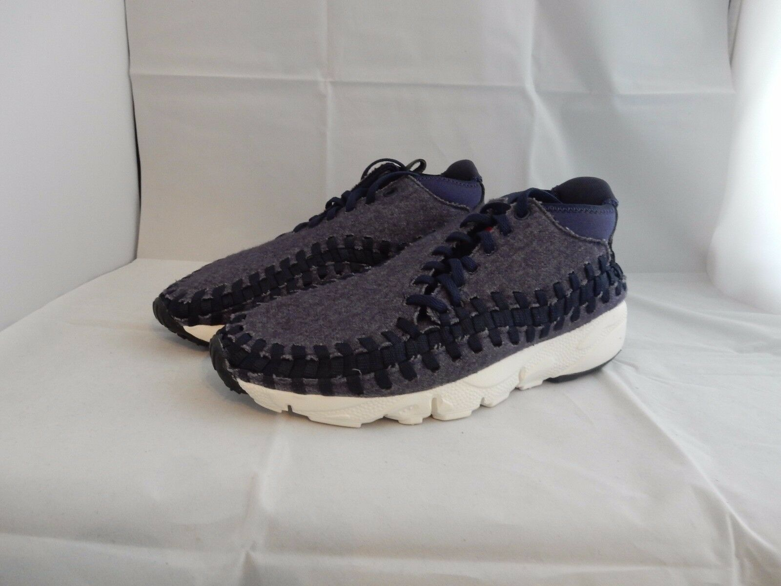Nike air footscape blau aus der männer - usa 8,5 nm.
