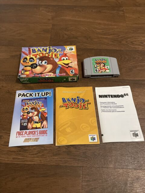 Banjo-Tooie Nintendo 64 Complete Game w/ Box and Manual CIB Authentic N64 2000