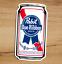 Indexbild 2 - PBR Pabst Blue Ribbon Bier Premium Qualität Vinyl 2 Sticker Pack Aufkleber 3x2