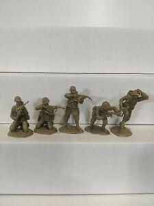 Conte-WWII-U-S-GI-039-S-Bloody-Omaha-5-Figures-Light-Tan-Color-1-32-F