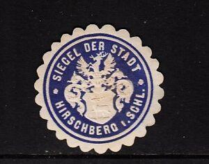 47203-Siegelmarke-Siegel-der-Stadt-Hirschberg-i-Schlesien
