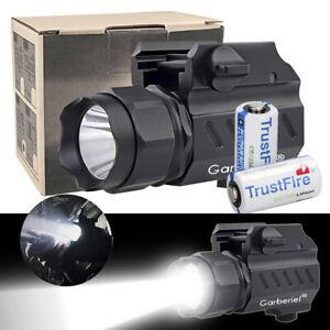 Garberiel-G02-LED-Tactical-stund-Gun-Flashlight-2Mode-Pistol-Torch-Light-Battery