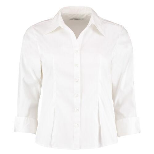 WHITE LADIES 3//4 SLEEVE BLOUSE KK710 OXFORD OR KK715 CONTINENTAL SMART OFFICE