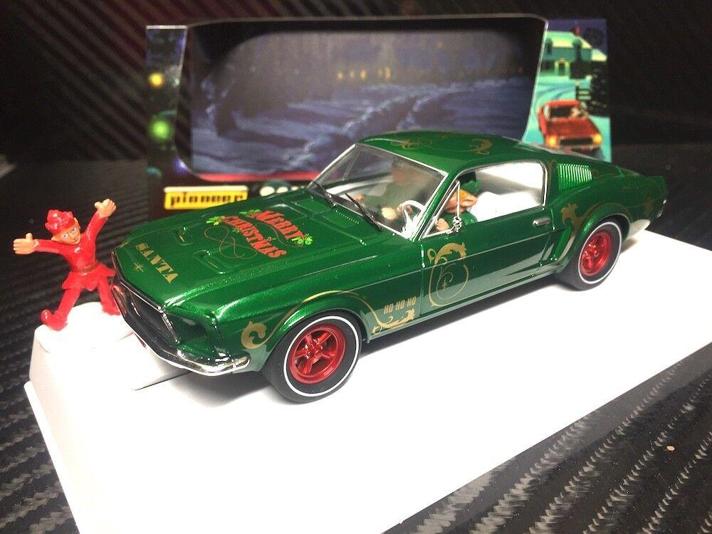 Pioneer 2018   Santa's Stang  Grn. 1968 Ford Mustang 390 GT 1 32 Slot voiture P075-DS  vente en ligne économiser 70%