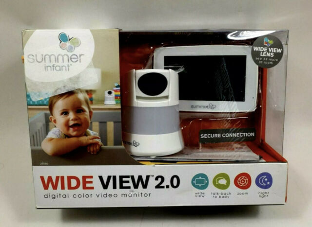 Summer Infant In View 2.0 Color Video Baby Monitor w// Remote