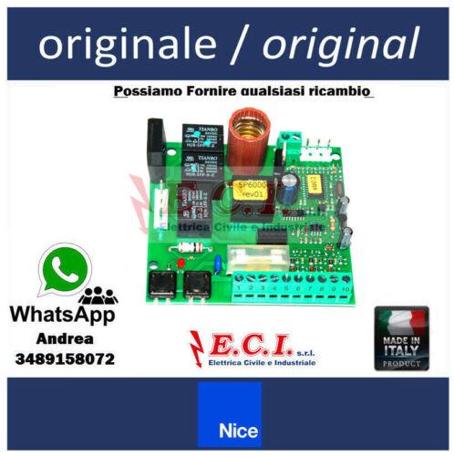NICE Originale SPA40 SCHEDA RICAMBIO PER SP6000