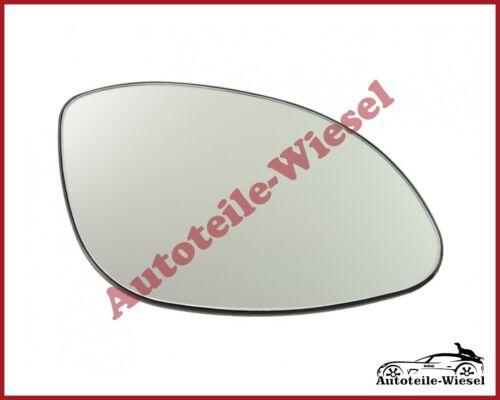 Spiegelglas Rechts Konvex Chrom für OPEL VECTRA B