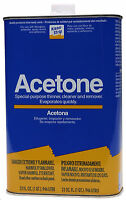 Acetone - 1 Quart Can