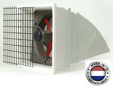 Exhaust Fan Commercial Incl Hood Screen Amp Shutters 12 3 Spd 1282 Cfm 3