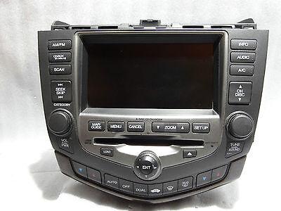 2006 2007 Honda Accord Six Disc Factory CD Changer W/Navigation OEM
