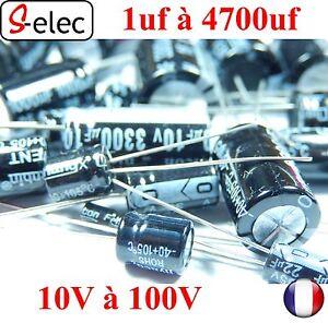 4020# Aluminum Electrolytic Capacitor 1uf-4700uf 10-100v +-20% s-elec