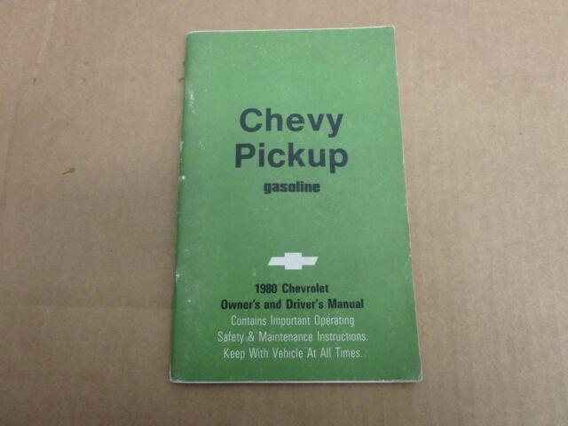 1980 Chevrolet Chevy Pickup Truck C  K Gas K10 K20 C10