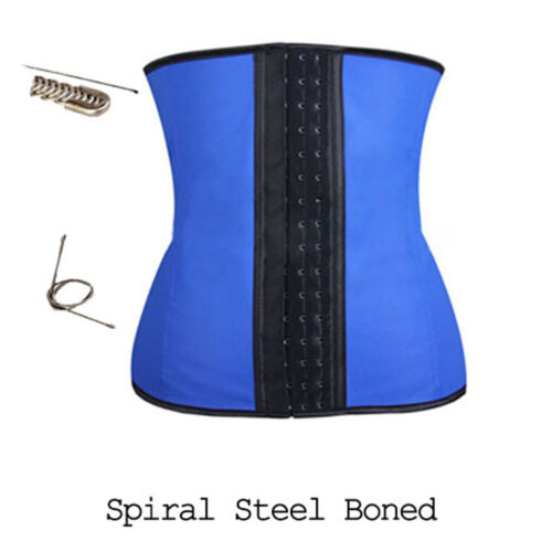 Lover Beauty Women/'s Latex Underbust Corset Waist Training Cincher 9 Steel Bone